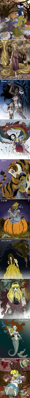 Disney halloween princess
