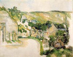 1885 Una vuelta en el camino de La Roche- Guyon