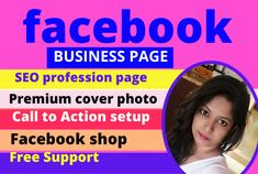 Facebook business page is very important for any business od website promotion Brand yourself. Facebook is largest audience platform in he world. I will set up your Facebook business page.  MY SERVICES:      Create page     Design Eye Catching cover photo set up  page     All customs Tab     Add products     Call to Action set     Add all details of your business Social Media Marketing, Digital Marketing, Seo Professional, Page Setup, Website Promotion, Create Page, Advertise Your Business, Facebook Business, Call To Action