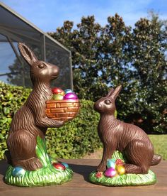 Primitive Vintage Style Easter Springtime Faux Bunny Rabbit Cookie Mold Figurine