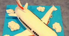 HAPPY 21ST! - Aeroplane Cake + Extra Photos on the Steps on Making it! - at the end of this post My first go at a 3D cake and I'm ve...