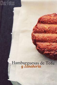 Hamburguesas de Tofu y Zanahoria | Chez Dashita, Recetas, Música y Fotos
