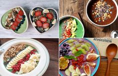 Start your day right with one of these spectacular smoothie bowls