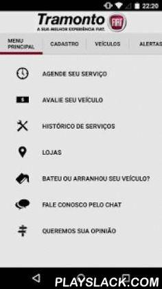 Tramonto  Android App - playslack.com ,  Aplicativo da rede de concessionárias Tramonto FIAT. Baixe agora mesmo o aplicativo e tenha acesso a agendamento on-line, consulta de histórico de serviços realizados e avaliação do seu veículo. Além disso a Tramonto ajudará você a lembrar das manutenções, vencimento da sua habilitação, vencimento do IPVA e seguro do seu veículo. The dealer network Tramonto FIAT application. Download now even the app and gain access to online scheduling, appointment…