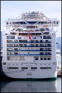 Sapphire Princess Cruise Ship -- this was my home for 31 days back in 2007