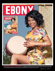 Nia Long as Dorothy Dandridge (65th Anniversary special edition cover of Ebony)