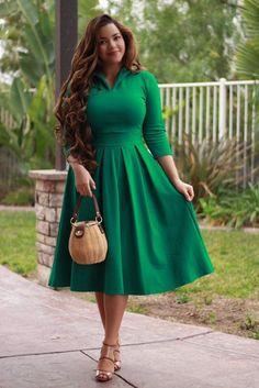 Santorini Emerald Dress – Cute Girl Curvy fashion - African Styles for Ladies Modest Dresses, Plus Size Dresses, Plus Size Outfits, Fall Dresses, Summer Dresses, Peplum Dresses, Church Dresses, Dressy Dresses, Pageant Dresses