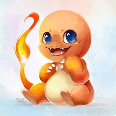 004 - Charmander by TsaoShin on DeviantArt Pokemon Charmander, Pikachu, My Pokemon, Cool Pokemon, Charizard, Pokemon Ships, Pokemon Fan Art, Geeks, Deviantart Pokemon
