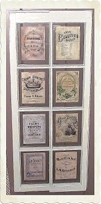 another idea for displaying sheet music - in old window.