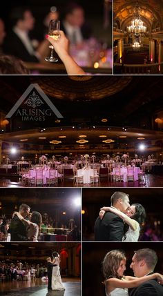 Detroit Wedding Photography at the Fillmore #ArisingImages #Detroit #TheFillmore #WeddingPhotography #FirstDance