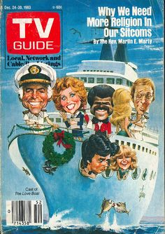 """The Love Boat"" on TV Guide cover."