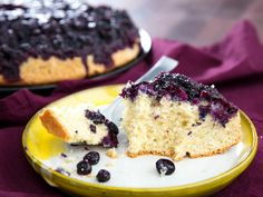 How to Make an Upside Down Blueberry Muffin in a Cast Iron Pan | Serious Eats
