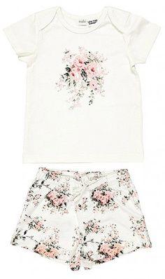 Toshi  Wild Rose Pjamas