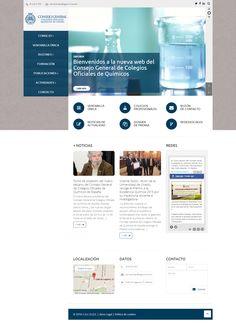 Los Químicos de España se renuevan con una web sobria, ágil, moderna y con espíritu de servicio. http://pasquino.es/los-quimicos-de-espana-se-renuevan-con-una-web-sobria-agil-moderna-y-con-espiritu-de-servicio/ #wordpress #química