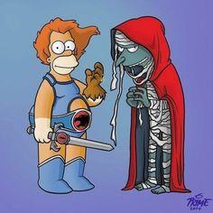 Cartoon Jokes, Cartoon Shows, Cartoon Art, Cartoon Characters, Simpsons Drawings, Simpsons Art, Ulysse 31, Gatos Cool, Black Spiderman