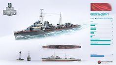 World of Warships Gremyashchy