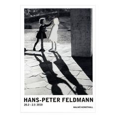 An exhibition poster from a 2010 survey of conceptual artist Hans-Peter Feldmann's work