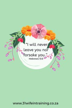 My Heavenly Father promise to never leave me, nor forsake me, I am never alone, I am never abandoned or forgotten! I believe this truth, nothing the enemy say to me can ever change this truth. Christian Devotions, Christian Quotes, Faith Quotes, Scripture Quotes, Sermon Notes, Bible Study Tips, Inspirational Articles, Bible Teachings, Finding Joy