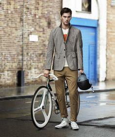 Colección de ropa funcional para ciclista urbano de H