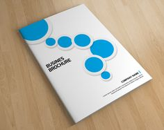 InDesign Clean business brochure by Template Shop on Creative Market