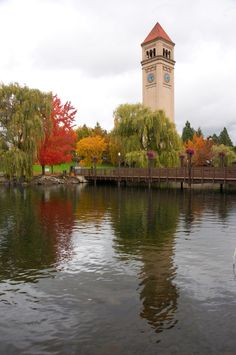 Riverfront Park Clock tower #spokane