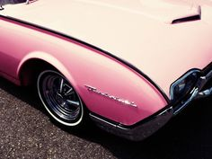 Ford Thunderbird.. The new ones made to look like the older ones have a nicer paint job. But terrific lines!!!