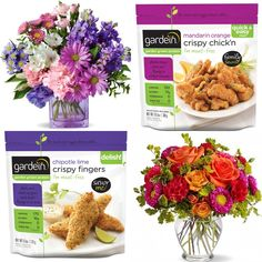 Know what goes great with Mom's bouquet? Some gardein!
