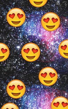 Galaxy Heart Emoji Everytime i see my crush... we heart it emoji, galaxy ...