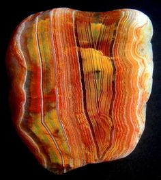 Amazing Geologist The Lake Superior agate is a type of agate stained by iron and found on the shores of Lake Superior.