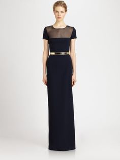 Love this: Belted Gown @Lyst