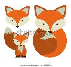 fox face illustration - Google Search