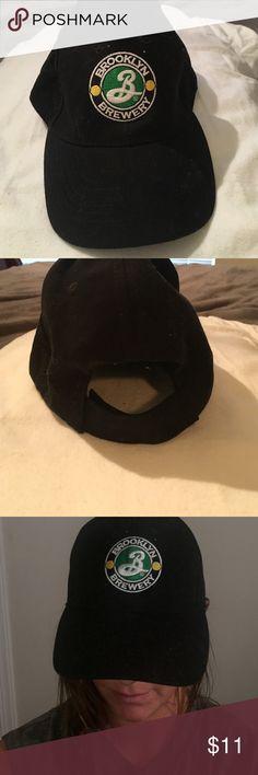 Brooklyn Brewery ball cap Black baseball cap from Brooklyn Brewery. Like new acme Accessories Hats