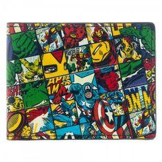 Official Marvel Comics Infinity War Bi-fold Wallet with Avengers Crest Badge