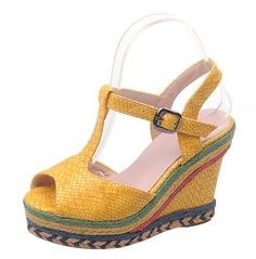 Laruise Women's Platform Wedge Sandal ** Find out more about the great product at the image link.
