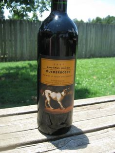 The Faithful Hound by Mulderbosch. South African Wine, Earthy, Whiskey Bottle, Wines, Red Wine, Spicy, Food, Essen, Meals