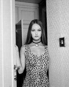 Vanessa Paradis Zip Up Leopard Dress via Manon