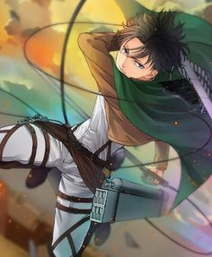Levi from Attack on Titan! The coolest shortest person ever.<< I didn't know about that, have you met Edward Elric?