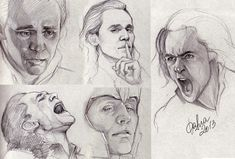Loki sketches by DafnaWinchester.deviantart.com on @deviantART