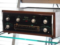 McIntosh MA-6100 integrated amp.  I have owned a lot of Mac gear, and this is the only piece I ever think about buying again. Warm almost tube like sound and superb build quality. If I ever sold the Sansui 9090DB, this is what I would purchase again.  =)