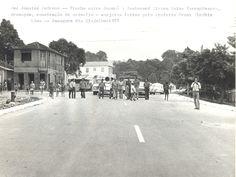 Trecho da rua Jonathas Pedrosa, entre a rua Japurá e o Boulevard Álvaro Maia. Em 1973. Acervo: Frank Abrahim Lima.