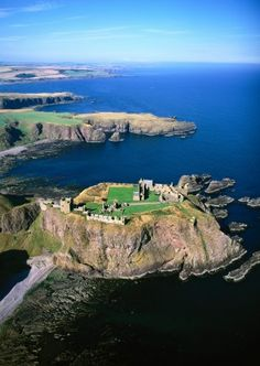 Dunnottar Castle Grampian Region, Scotland.  What Brexit will mean to Aussies travelling to Great Britain