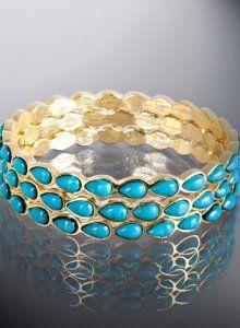 Amrita Singh - Turquoise Bangles