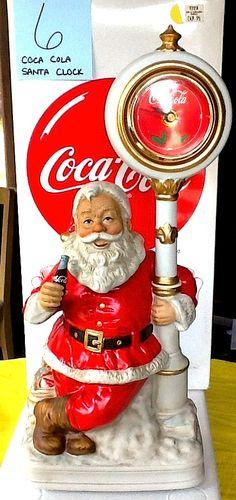 Coca-Cola Santa Clock