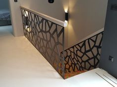 Tiled Staircase, House Staircase, Staircase Railings, Staircase Design, Interior Stair Railing, Balcony Railing Design, Contemporary Stairs, Modern Stairs, Escalier Design