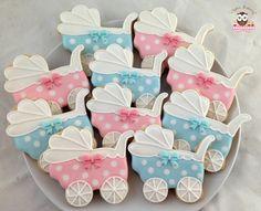 Baby Shower cookies, pram cookies, boy or girl cookies, gender neutral baby…