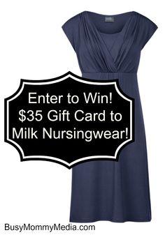 Milk Nursingwear Giveaway