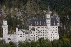 Neuschwanstein Castle | Of Neuschwanstein Castle Photograph - An Aerial View Of Neuschwanstein ...