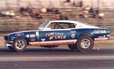 Tom McEwen, Mongoose 67 Barracuda funny car