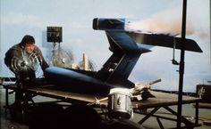 Fireflash large-scale tail fin, from 'Thunderbirds' (1965 /1966) by Gerry and Sylvia Anderson (AP Films)