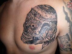 Thibetian skull